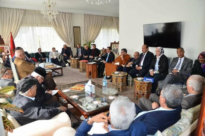 العثماني يلتقي رؤساء النقابات والأحزاب غير الممثلة في البرلمان لاستعراض آخر تطورات قضية الصحراء
