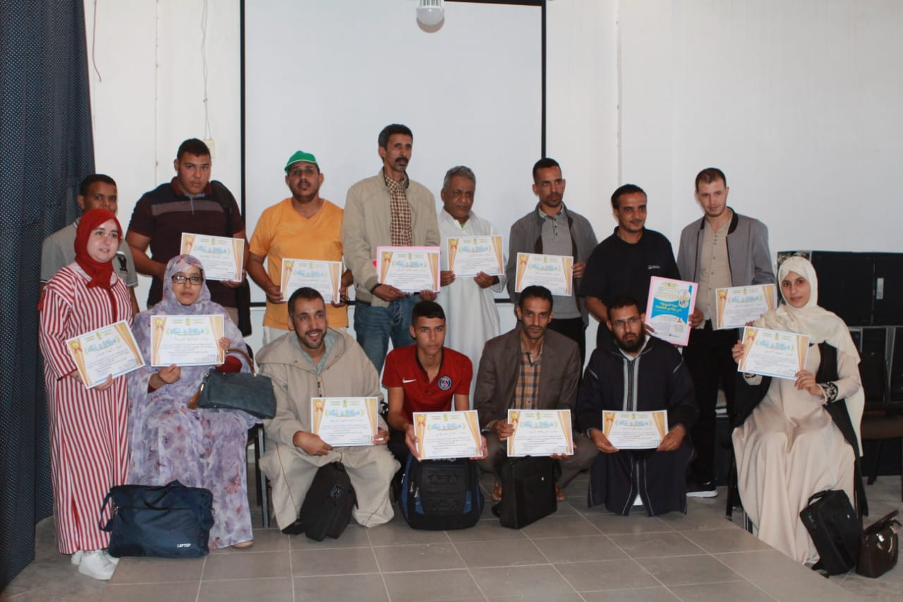 العيون:جمعية الاساتذة المجددين فرع العيون يخلق الحدث في الدورة التكوينية بمؤسسة الأهرامات