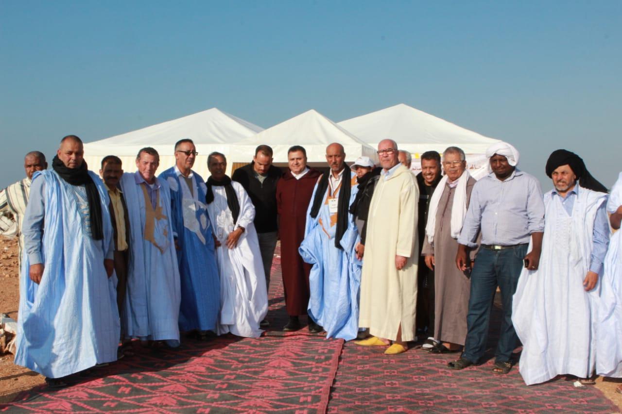 تصريحات لأعيان قبيلة مجاط بملتقى الولي الصالح سيدي الكرن جماعة بن خليل اقليم طانطان