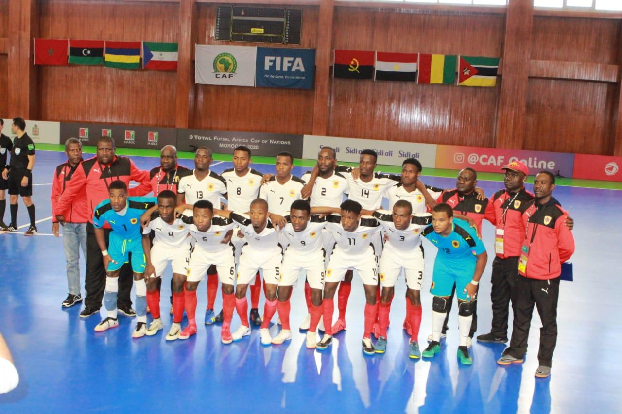 العيوت: تاهل منتخب انغولا للمربع الذهبي على حساب منتخب غينيا 5/1