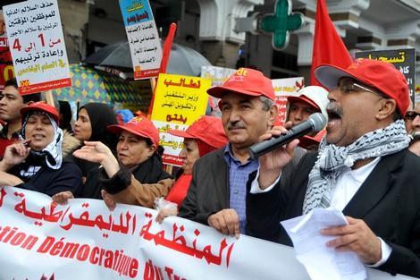 """07 مارس 2020"""": انعقاد المجلس الوطني الاستثنائي للمنظمة الديمقراطية للصحة"""