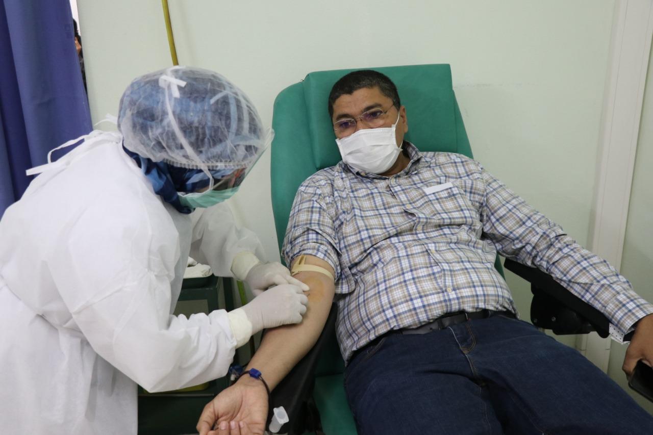 مكتب جماعة الدشيرة الترابيةنظم هاد الصباح حملة للتبرع بالدم