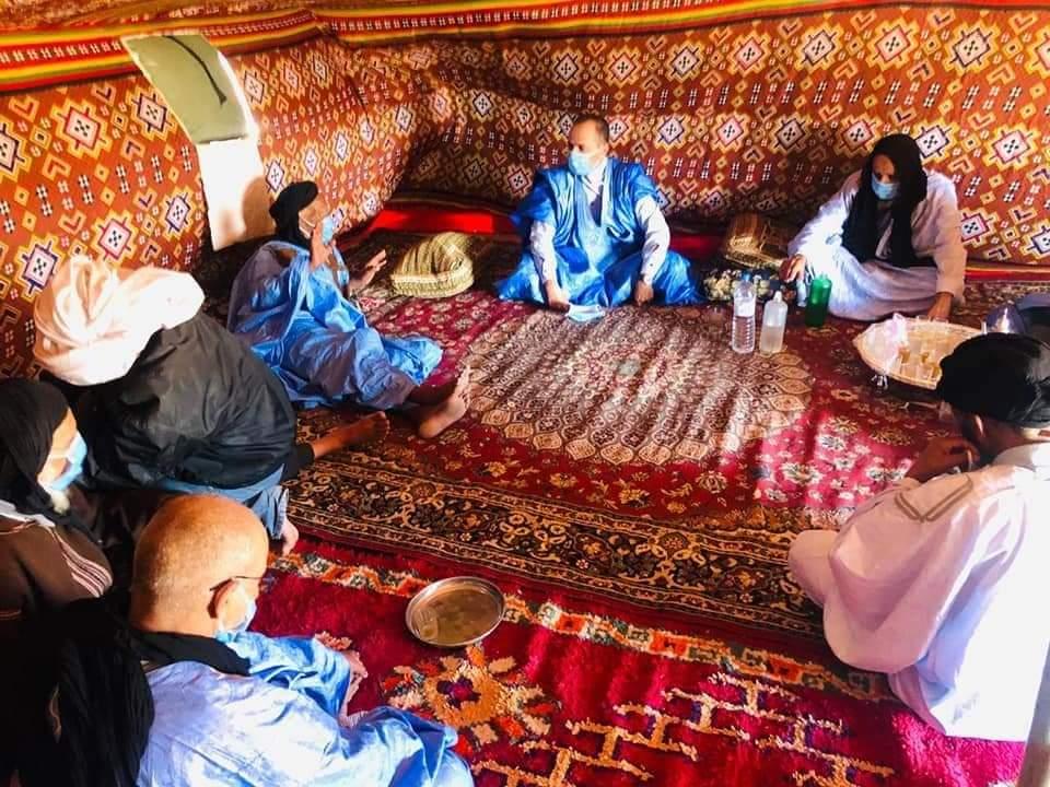 """منطقة """"أكراير أمات الشكوة"""" تشهد زيارة ميدانية للكسابة من طرف رئيس جماعة الحكونية"""