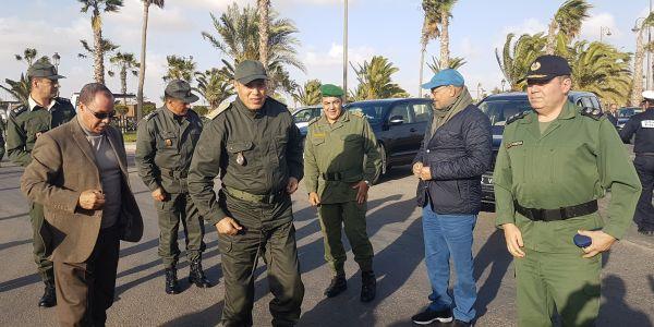 ولاية العيون: يجب تعاون الجميع والالتزام لمقاومة كورونا..
