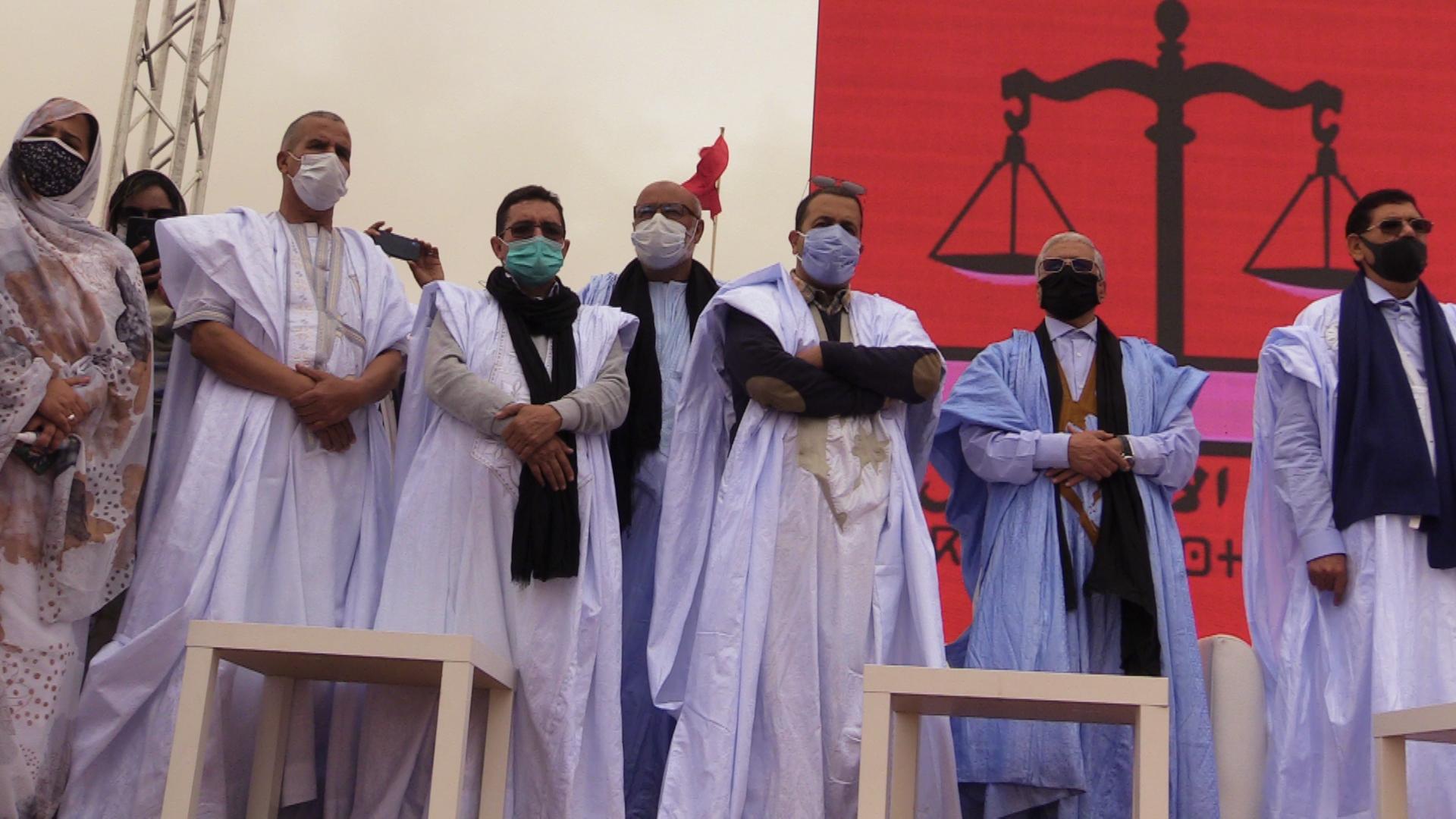 الاعتراف الامريكي بمغربية الصحراء حزب الاستقلال ينظم مهرجان خطابي بالعيون