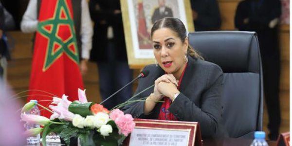 الوزيرة نزهة بوشارب  في زيارة لجهة العيون-  الساقية الحمراء