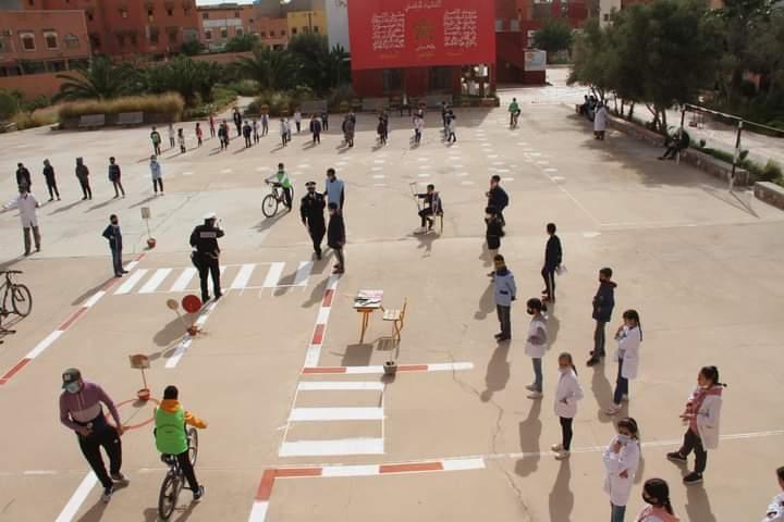 عصبة الدراجات بكلميم وادنون نظمت مجموعة من الأنشطة بمناسبة اليوم الوطني للسلامة الطرقية