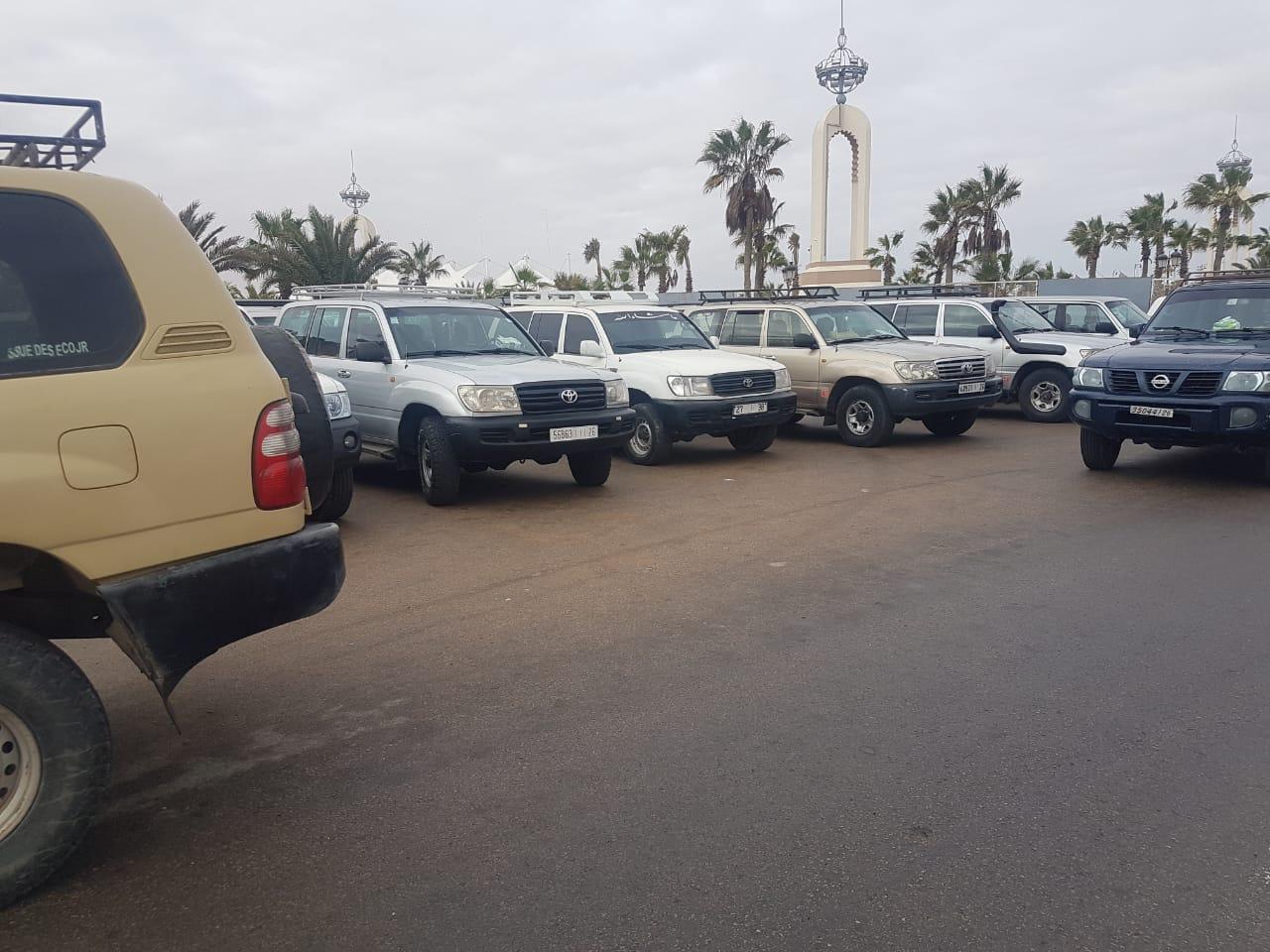 العيون:الوالي عبد السلام بيكرات يخلق الحدث بحل مشكل ضريبة ملاك سيارات الدفع الرباعي