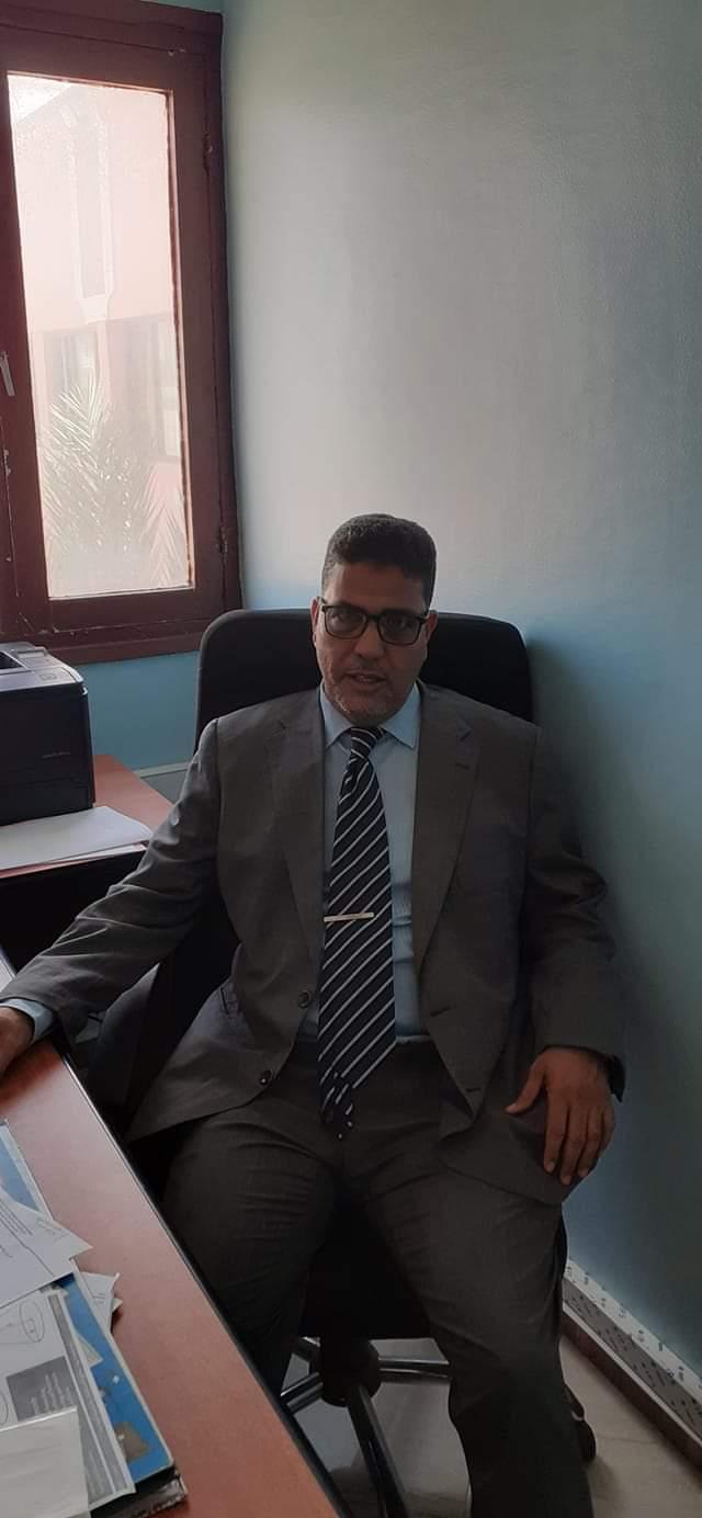 الأستاذ محمد فاضل لفيرس مديرا إقليميا للصناعة التقليدية بمدينة بوجدور