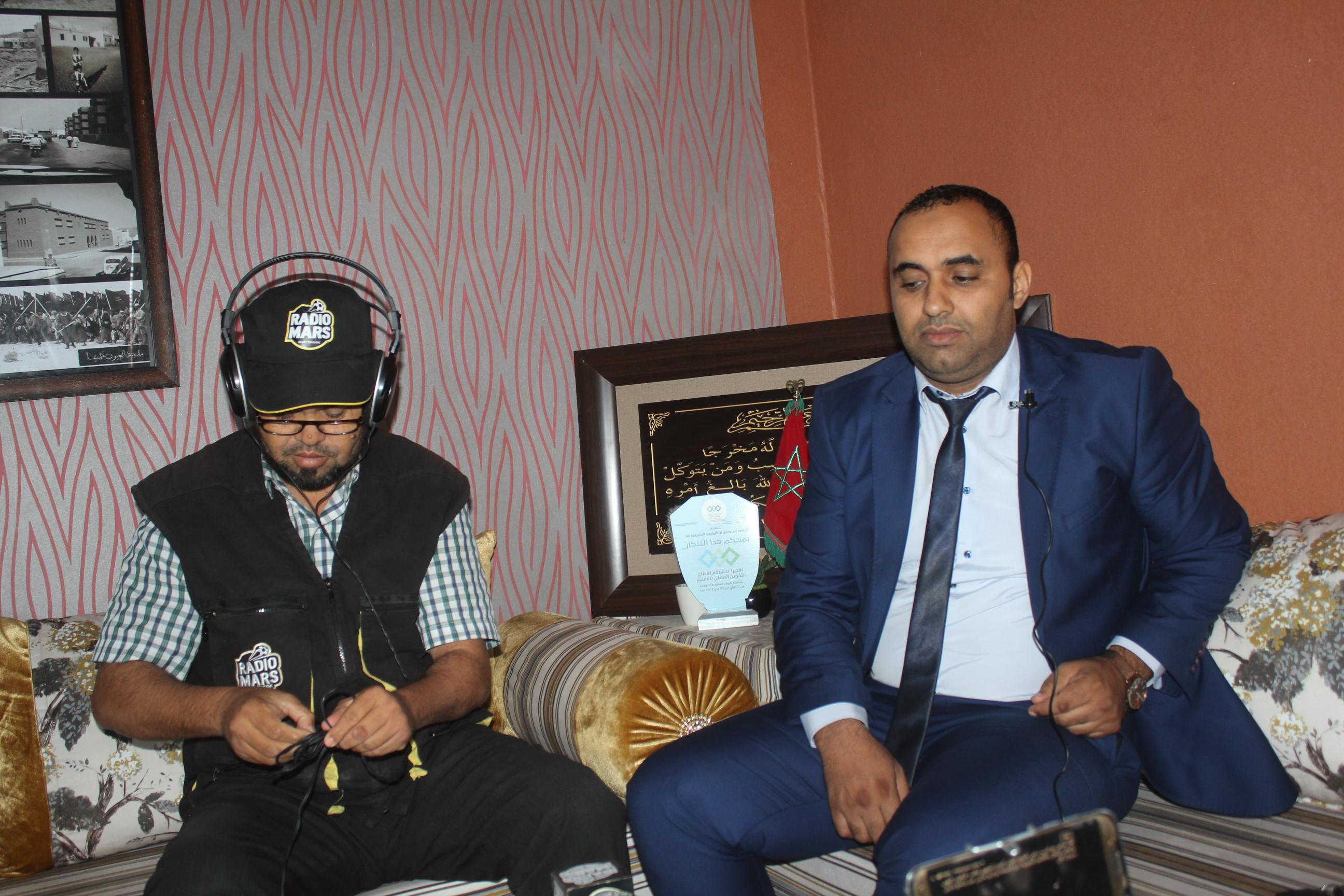 بالفيديو:حصيلة مكتب التكوين المهني وانعاش الشغل بالاقاليم الجنوبية مع السيد سامي الصلح الطيب