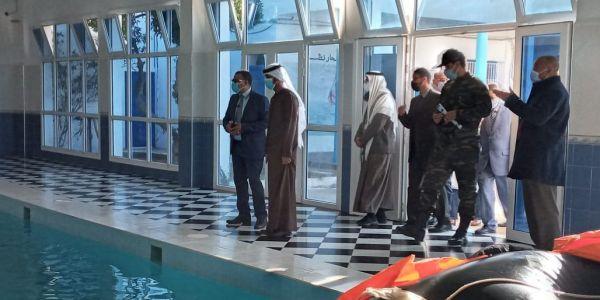 قنصل الإمارات يبحث عن فرص استثمارات بميناء العيون