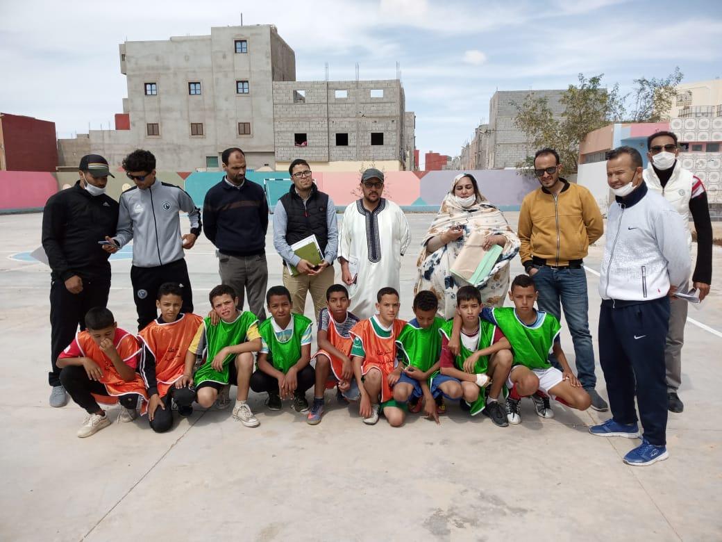 جمعية روابط للاعمال الاجتماعية والبيئة والتنمية تكسب رهان التوعية الرياضية بالمؤسسات التعليمية .