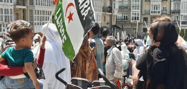 مكاسب قضية الصحراء المغربية تخرج أنصار البوليساريو إلى شوارع مدريد